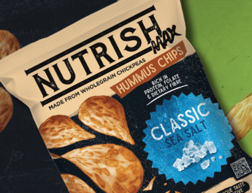 Hummus chips – healthy and rich in folate