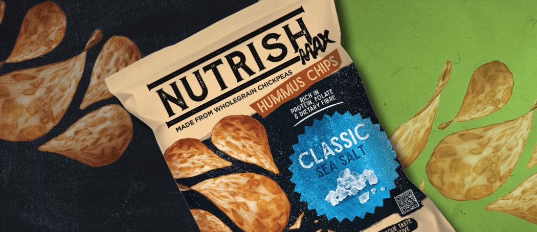 Nutrish Max Hummus Chips Classic