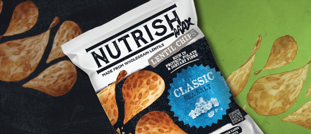 Nutrish Max Lentil Chips Classic