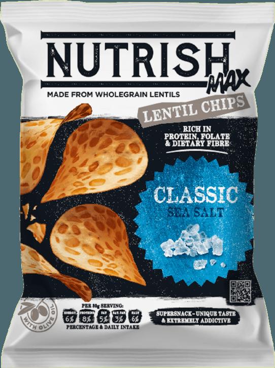 Nutrish Max Lentil chips - Classic - front