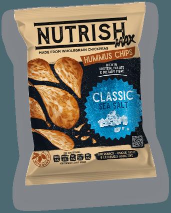 Nutrish Max Hummus chips - Classic
