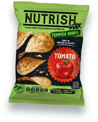 Nutrish Max Temepeh chips - Tomato